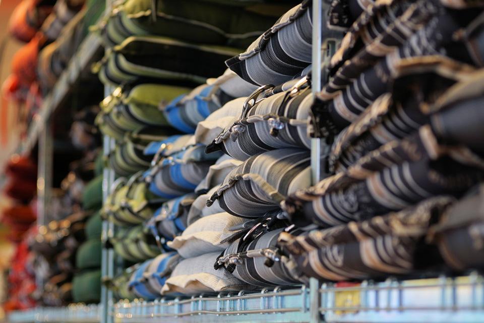 amplia gama de cojines para sillas de exterior e interior